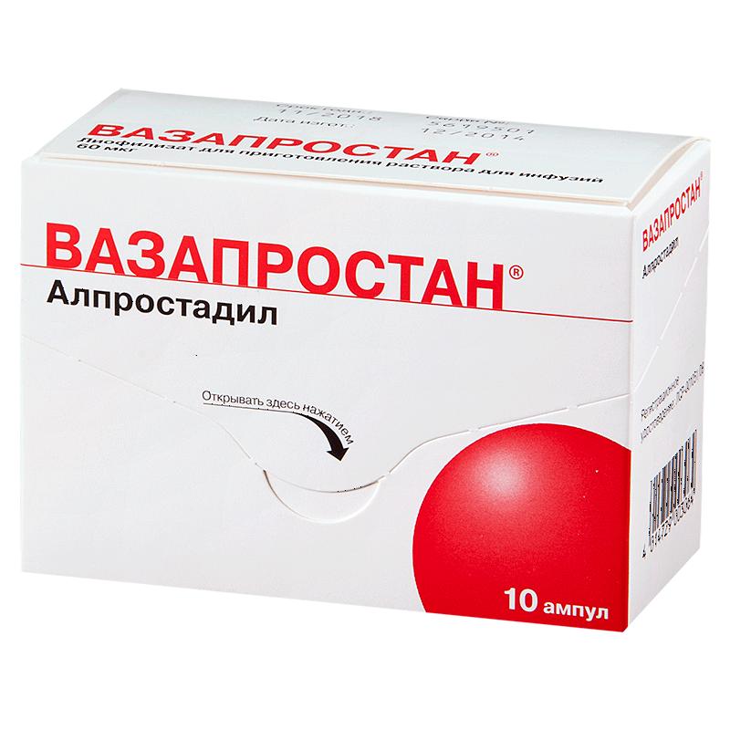 Вазапростан простатит препараты для лечения аденомы и простатита