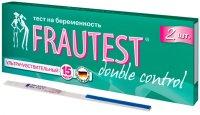 Тест на беременность FRAUTEST Double Control №2