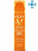 VICHY CAPITAL IDEAL SOLEIL спрей-вуаль освежающий SPF-50 75мл