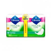 Прокладки гигиенические LIBRESSE Natural Super Care №18