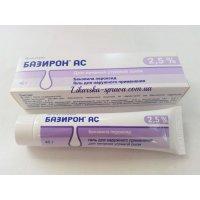 Базирон АС туба(гель д/наружн. прим.) 2,5% 40г №1