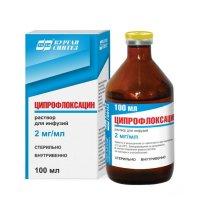 Ципрофлоксацин фл.(р-р д/инф.) 2мг/100мл