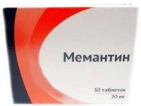 Мемантин таб. п/пл. об. 20мг №30