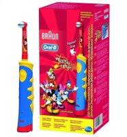 Зубная щетка детская ORAL-B Mickey mouse электр.