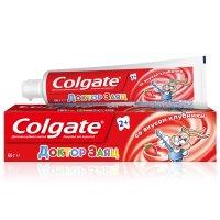 Зубная паста детская COLGATE Доктор заяц вкус клубники 50мл