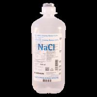 Натрия хлорид фл.(р-р д/инф.) 0,9% 500мл №1