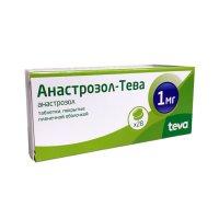 Анастрозол-Тева таб. п/пл. об. 1мг №28
