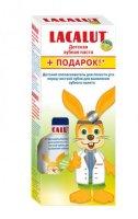 Зубная паста детская ЛАКАЛЮТ Kids от 4 до 8 лет 50г + ополаскиватель детский 50мл