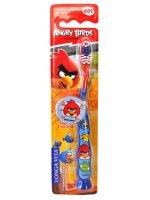 Зубная щетка детская LONGA VITA Angry Birds с защитным колпачком (с 5 лет)