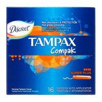 Тампоны гигиенические TAMPAX Compak Super Plus №16