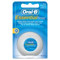 Зубная нить ORAL-B Essential Floss 50м мятная