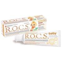 Зубная паста детская РОКС Baby (0-3лет) Нежный уход с экстрактом айвы 45г