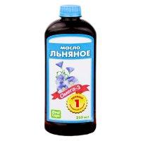 Льняное масло фл. 250мл
