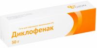 Диклофенак туба(гель д/наружн. прим.) 5% 30г №1