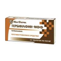 Тербинафин-МФФ таб. 250мг №10