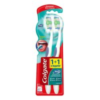 Зубная щетка COLGATE 360 Суперчистота средн. 1 + 1