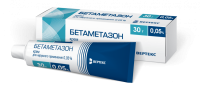 Бетаметазон туба(крем д/наружн. прим.) 0,05% 30г №1