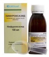 Нифуроксазид фл.(сусп.) 200мг/5мл 100мл
