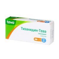 Тизанидин-Тева таб. 2мг №30