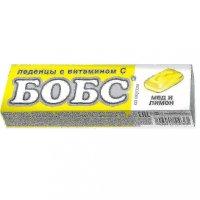 Леденцы БОБС мед и лимон №10