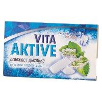 Вита Актив жевательная резинка б/сахара Сладкая мята с микрогранулами №12