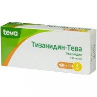 Тизанидин-Тева таб. 4мг №30