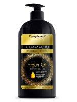 Крем-масло COMPLIMENT Argan Oil д/рук и тела 5в1 400мл