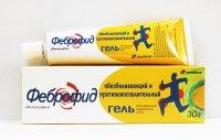 Феброфид туба(гель д/наружн. прим.) 2,5% 30г №1