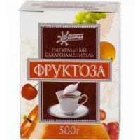 Фруктоза кор.(пор.) 500г кристаллическая