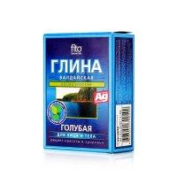 """Глина косметическая голубая """"Валдайская"""" 100г"""