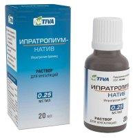 Ипратропиум-натив фл.-кап.(р-р д/ингал.) 0,25мг/мл 20мл