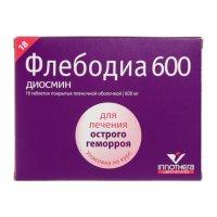 Флебодиа 600 таб. п/пл.об. 600мг №18