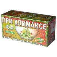 Чай лечебный СИЛА РОССИЙСКИХ ТРАВ №16 при климаксе №20
