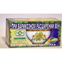 Чай лечебный СИЛА РОССИЙСКИХ ТРАВ №6 против варикозного расширения вен пак.-фильтр №20