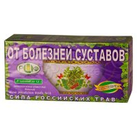 Чай лечебный СИЛА РОССИЙСКИХ ТРАВ №14 при болезнях суставов пак.-фильтр №20