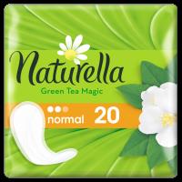 Прокладки гигиенические NATURELLA Normal Green Tea Magic ежедн. №20