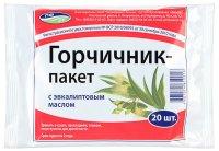 Горчичник-пакет с эвкалиптовым маслом