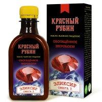 """Льняное масло """"Красный рубин"""""""