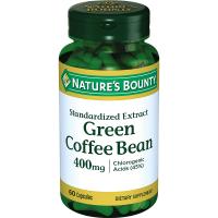 Нэйчес Баунти (Natures Bounty) Зеленые кофейные зерна 400мг