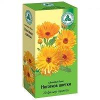 Календулы цветки (ноготков цветки) пак.-фильтр 1,5г №20