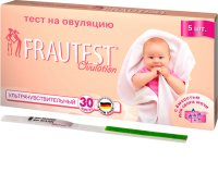 Тест на овуляцию FRAUTEST Planning + тест на беременность №5+2