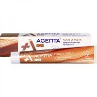 Асепта Plus зубная паста кофе и табак 75мл