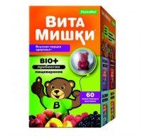 Витамишки Bio+ (пребиотик) д/пищеварения