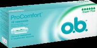 Тампоны гигиенические O.B. ProComfort Super Plus №16