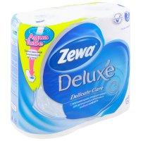 Бумага туалетная ZEWA Deluxe 3-слойн. №4 (бел.)