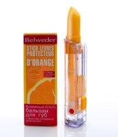 Бальзам для губ BELWEDER с маслом сладк. апельсина (витамины С, E, F) 4/4,5г