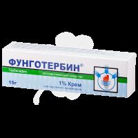 Фунготербин туба(крем д/наружн. прим.) 1% 15г №1