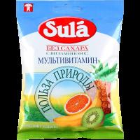 """Зула (""""Sula"""") леденцы д/диаб. 60г (мультивит.)"""