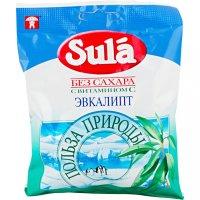 "Зула (""Sula"") леденцы д/диаб. 60г (эвкалипт)"