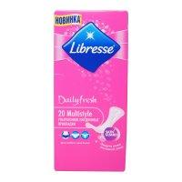 Прокладки гигиенические LIBRESSE Daily Fresh мультистайл №20